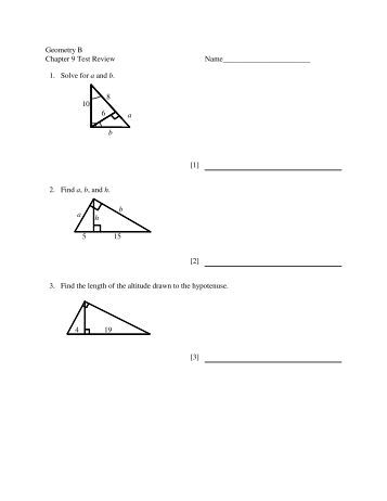 Geometry Chapter 9 LMAs with answer key