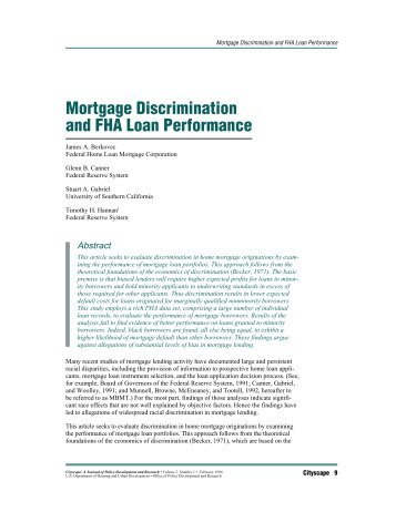 mortgage discrimination 2015-11-10 many older borrowers encounter difficulty in getting a mortgage into their pension years, even those with guaranteed final-salary pension income.