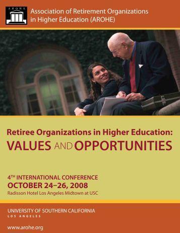 2008 Conference (PDF) - AROHE