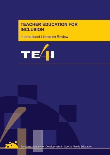 TEACHER EDUCATION FOR INCLUSION - Aetapi