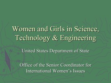 Women and Girls in Science, Technology & Engineering
