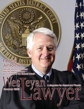 28850-TWLS Summer Lawyer Mag.pmd - Texas Wesleyan School ...