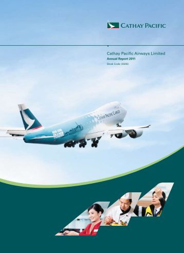 cathay pacific annual report Find out all the key statistics for cathay pacific air (cpcay), including valuation measures, fiscal year financial statistics, trading record, share statistics and more.