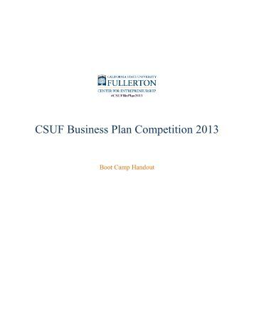 Tulane business plan competition 2013