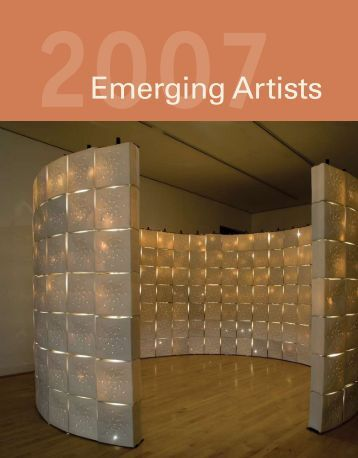 2007 Emerging Artists - Ceramic Arts Daily