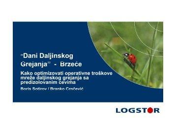 LOGSTOR Tehnička optimizacija - DBDH