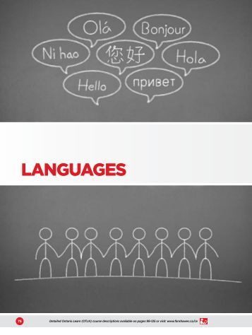 LANGUAGES - Fanshawe College