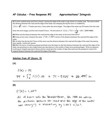 ap calculus essay Learn about the five-point scoring scale of the advanced placement exam, average ap scores, and what scores are needed for course placement.