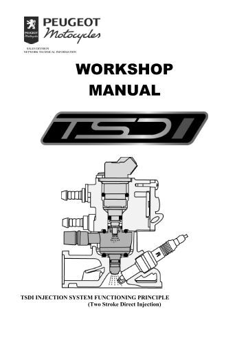 Peugeot motor FB-0-1-2-4 workshop manual 50 cm3