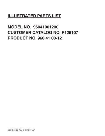 IPL, Partner, P125107, 96041001200, 2007-08, Tractor