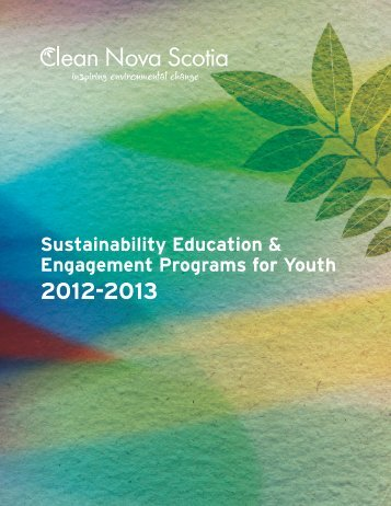 Sustainability Education & Engagement Programs for Youth