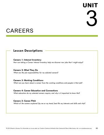 Career planning worksheet pdf
