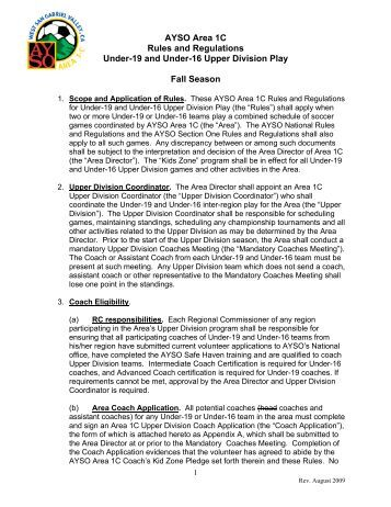 Roster Rules And Regulations