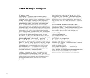 those who have participated in Sahmat projects (PDF)