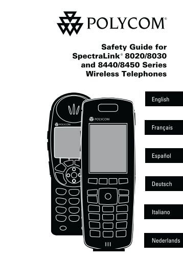 polycom spectralink 8440 user manual