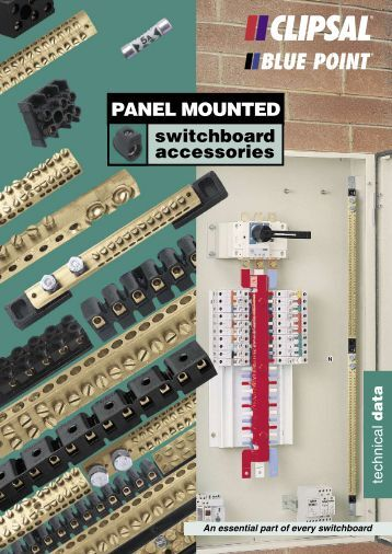 Panel Mounted Switchboard Accessories Technical Data ... - Clipsal