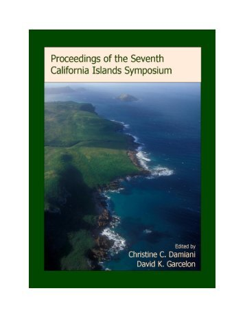 Proceedings of the Seventh California Islands Symposium