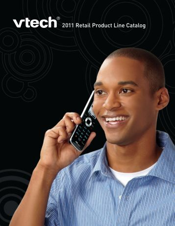 2011 Retail Product Line Catalog