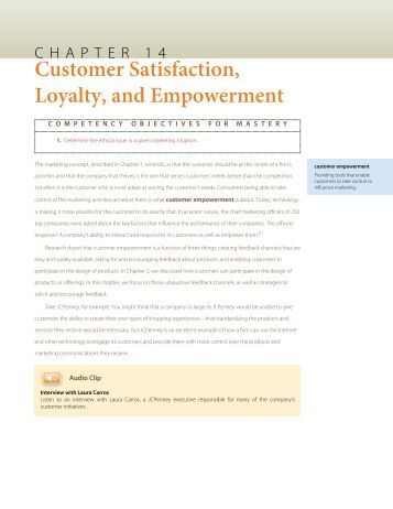 Empowerment For Better Customer Service