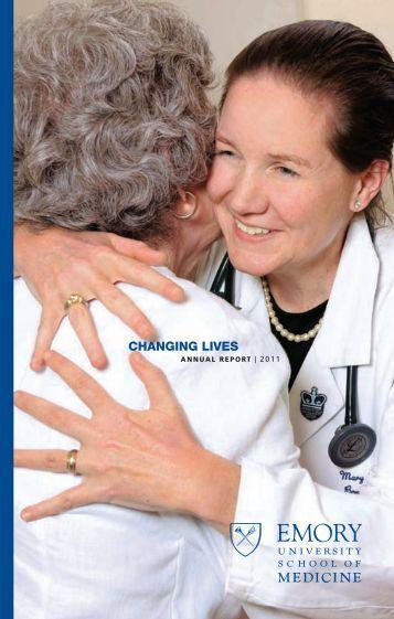 changing lives - Woodruff Health Sciences Center - Emory University