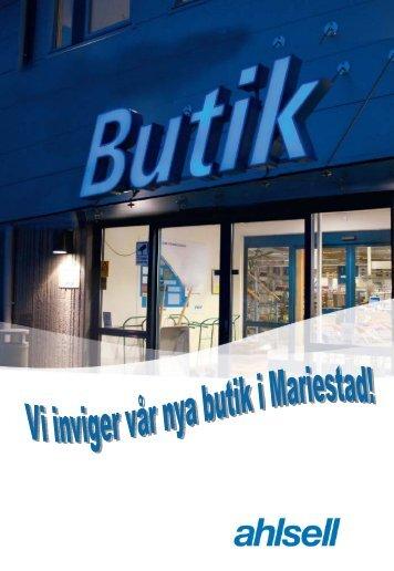 Invigning Mariestad - Ahlsell