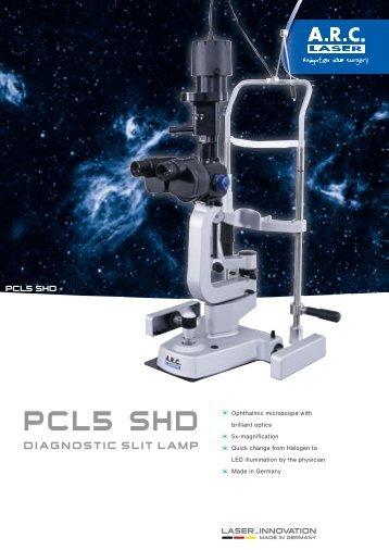 product sheet c pcl5 shd - arc laser