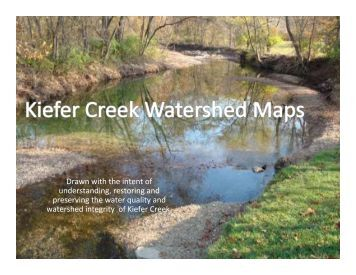 Kiefer Creek Watershed Maps by Missouri Coalition for the ...