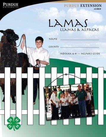 lLamaS & aLPaCaS - Purdue Extension - Purdue University