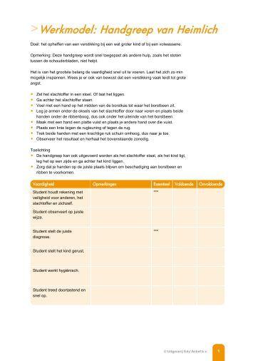 Werkmodel: Het toedienen van een zetpil: laxerend - Factor-E