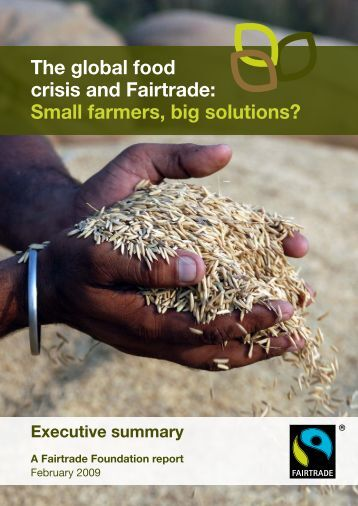 the food crisis and solution A wide-ranging approach addressing inequalities and the rights of marginalized  groups is essential in tackling the current global food crisis, the.