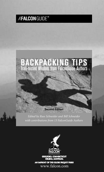 Backpacking Tips 2E - Falcon Guides