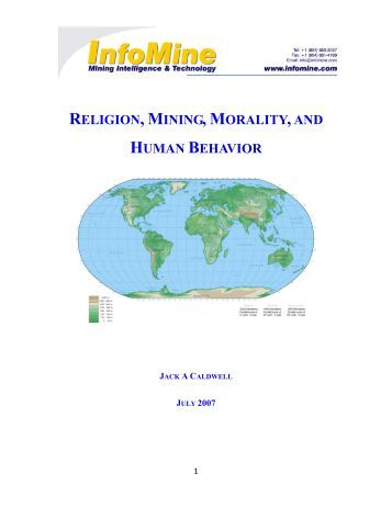 religion and human behaviour Get this from a library religion and human behavior [simon doniger].