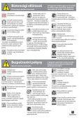 Kezelési útmutató Návod pro obsluhu - Seite 7