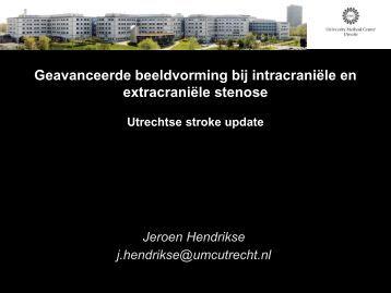 Geavanceerde beeldvorming bij intracraniële en ... - UMC Utrecht