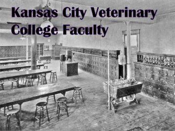 KCVC Faculty - College of Veterinary Medicine