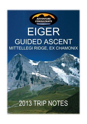 Eiger - Adventure Consultants