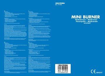 MINI BURNER - Biltema