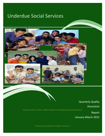 Underdue Social Services - Tell The Story Now