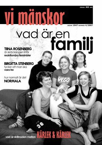 2007/4 - Vi Mänskor