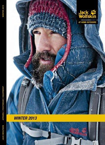 Jack Wolfskin WINTER 2013