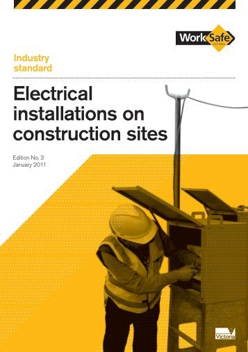electrical safety in construction sites Another key issue on all construction sites with temporary wiring is that the electrical contractor/electrician needs to maintain exclusive control over the electrical installation.