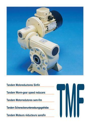 Catalogue - Motores Reductores de Velocidad