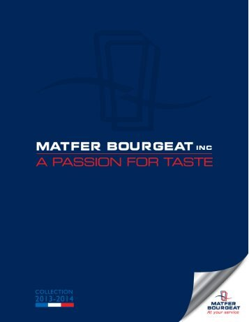 PDF catalog - Matfer Bourgeat Inc
