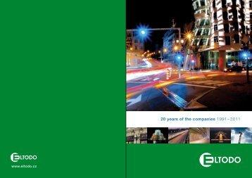 20 years of the companies 1991– 2011 - Eltodo