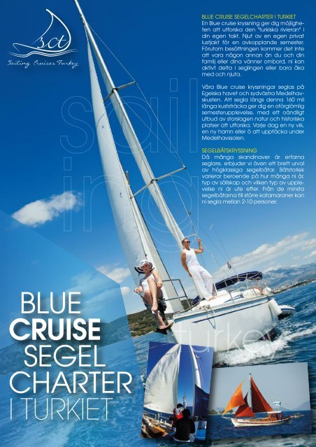 SCT Brochure SWE - Sailing Cruises Turkey