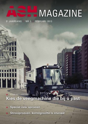 Download magazine - Aebi Schmidt Belgium