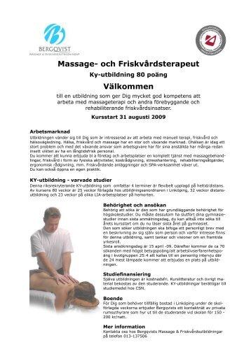 bergqvist massage
