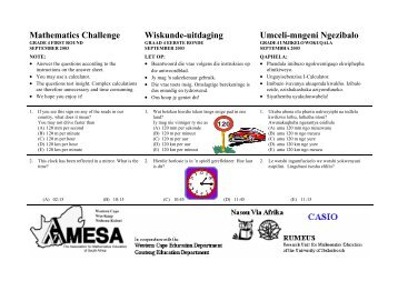 Grade 4101 - AMESA