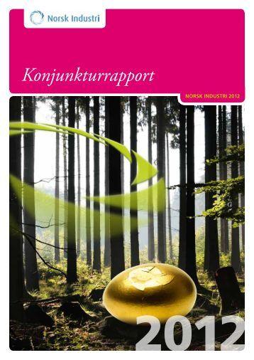 Konjunkturrapport 2012 - Norsk Industri