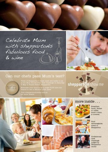 Can our chefs pass Mum's test? - City of Greater Shepparton